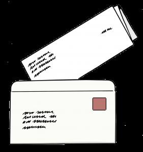 Brief un Briefumschlag