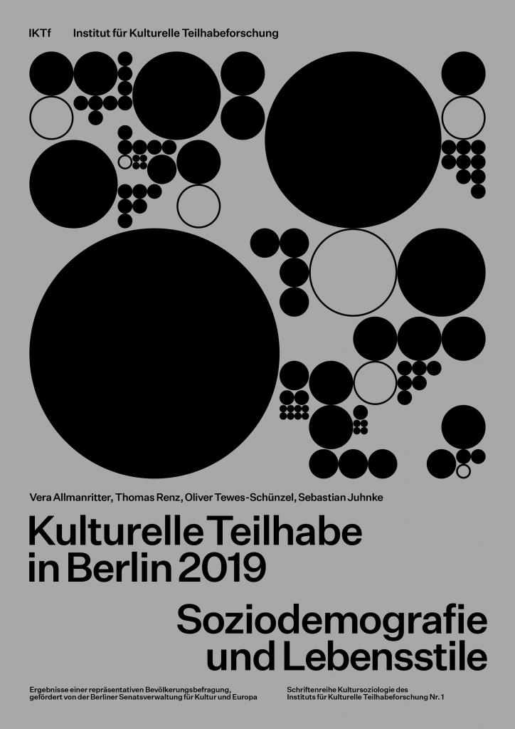 IKTf-Studie Kulturelle Teilhabe in Berlin 2019